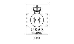 MSAFE - UKAS 4313 Accredited logo